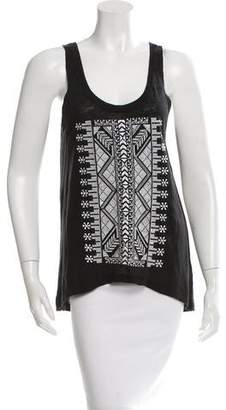 Rebecca Minkoff Sleeveless Embroidered Top w/ Tags