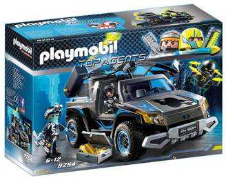 Playmobil UK Boys 9254 Top Agents Dr. Drones Pickup