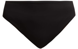 Dos Gardenias - She Bang High Waisted Bikini Bottoms - Womens - Black