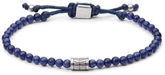 Fossil Vintage Casual Blue Beaded Bracelet