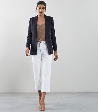 Reiss TATE JACKET DOUBLE BREASTED JACKET Navy
