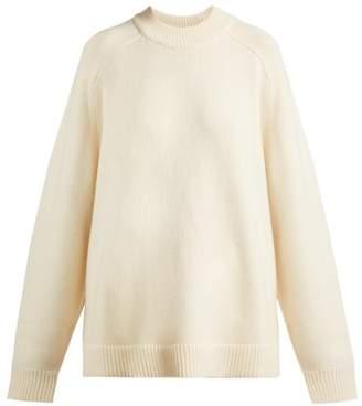 dc083c9553 Tibi Oversized Cashmere Sweater - Womens - Ivory