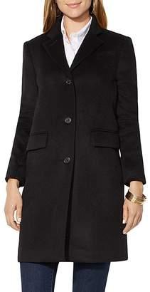 Lauren Ralph Lauren Flap Pocket Reefer Coat $315 thestylecure.com