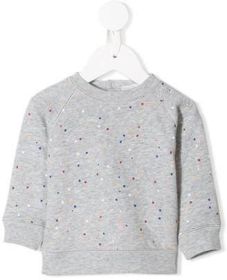 Stella McCartney Betty polka dot printed sweatshirt
