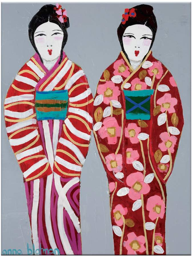 Artist Lane Yuri & Fi by Anna Blatman (Canvas)