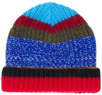 Missoni striped knit beanie
