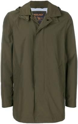 Woolrich hooded coach jacket