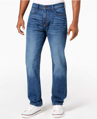 Tommy Hilfiger Men's Big & Tall Relaxed Fit Stretch Jeans