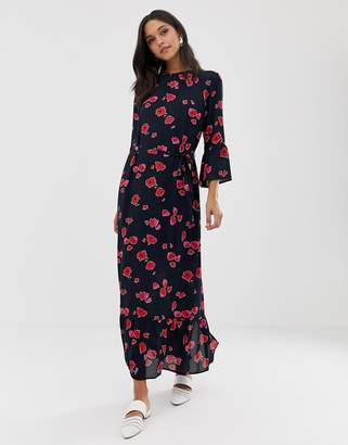 Selected Printed Maxi Dress