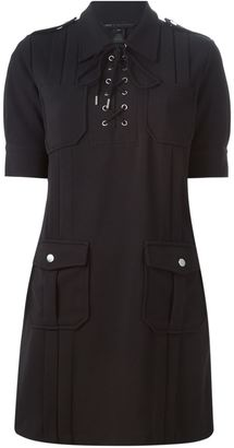 Marc By Marc Jacobs lace-up fastening dress $561 thestylecure.com