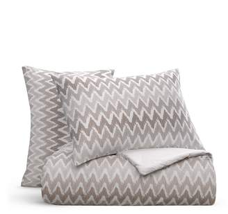 Bloomingdale's Essentials Chevron Comforter Set, Queen - 100% Exclusive