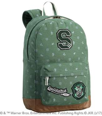 Pottery Barn Teen Harry Potter Slytherin Backpack