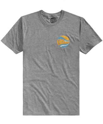 C&C California Men's Double Daze Tri-Blend Graphic-Print T-Shirt