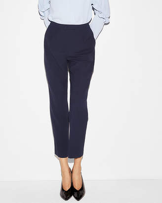 Express High Waisted Pleated Cropped Pant