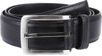Dents Textured leather belt