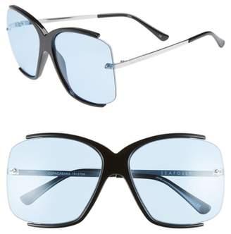 Seafolly Copacabana 64mm Oversize Sunglasses