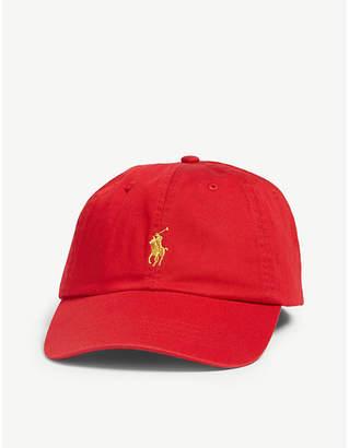 Polo Ralph Lauren Logo-embroidered cotton baseball cap 3b82617e815d