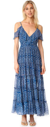 MISA Elodie Maxi Dress $392 thestylecure.com