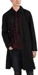Ksubi Men's Cotton Twill Duster Jacket - Black