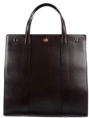 Giorgio Armani Textured Leather Tote