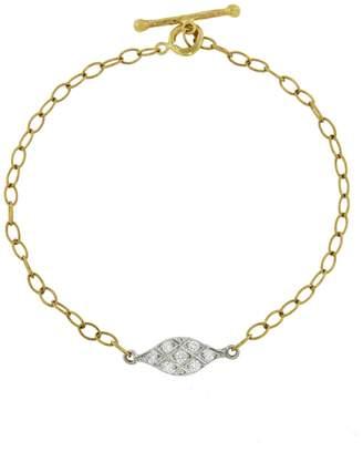 Cathy Waterman Acorn Fringe Bracelet