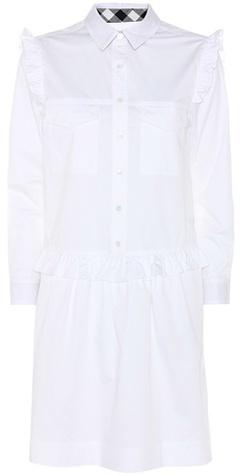 Burberry Burberry Isaline Cotton Shirt Dress