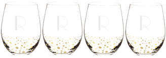 Cathy's Concepts Cathys Concepts Personalized 19.25 Oz. Stemless Wine Glasses