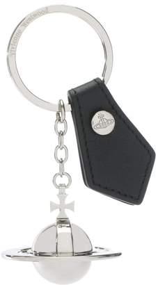 Vivienne Westwood Large Silver Orb Key Ring