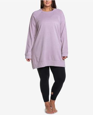 d4324b309e Soffe Curves Plus Size Throw-Back Sweatshirt