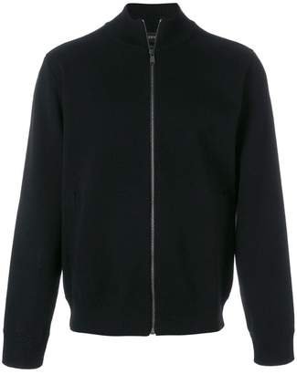 Versace embroidered Medusa zipped jacket