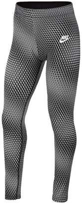 Nike Girls Favourite Graphic Leggings