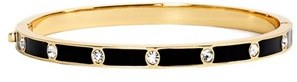 Women's Kate Spade New York Crystal & Enamel Hinge Bangle $48 thestylecure.com