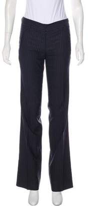 CNC Costume National Mid-Rise Pinstripe Pants