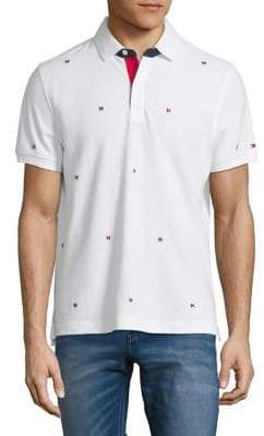 Tommy Hilfiger Parker Short-Sleeve Cotton Polo