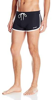 2xist Men's Cabo Solid Swim Trunks