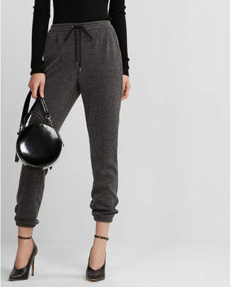 Express textured jogger pants
