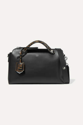 Fendi By The Way Small Leather Shoulder Bag - Black
