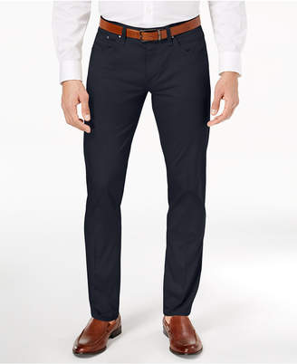 Calvin Klein Men's Classic-Fit Sateen Pants