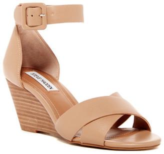 Steve Madden Nisa Wedge Sandal $79.95 thestylecure.com