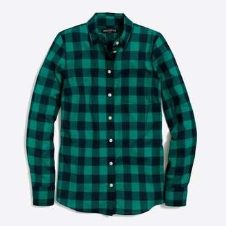J.Crew Factory Plaid shirt