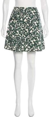 Tory Burch Printed Mini Skirt
