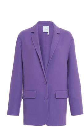Agnona Wool Blend Boyfriend Jacket