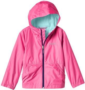 Columbia Toddler Girl Lightweight Solid Rain Jacket