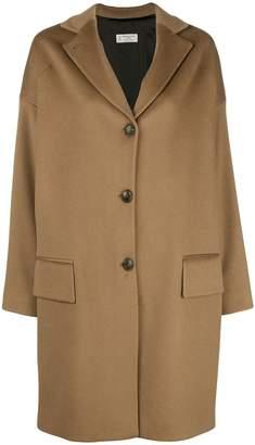 Alberto Biani oversized single-breasted coat