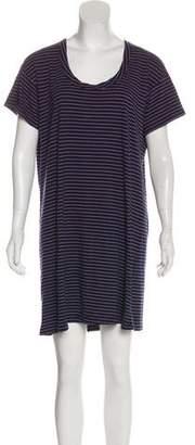 Current/Elliott Striped Mini Dress
