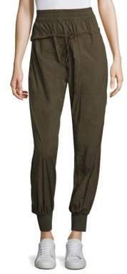 DKNY Layered Drawcord Pants