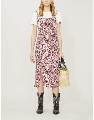 Free People Showstopper floral-print strappy woven dress