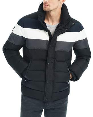 SAM. Olympic Contrast-Stripe Puffer Jacket - 100% Exclusive