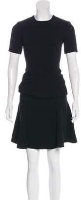 Cinq à Sept Esme Short Sleeve Midi Dress w/ Tags