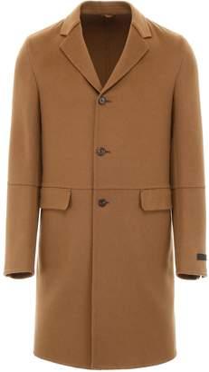 Prada Double Camel Coat